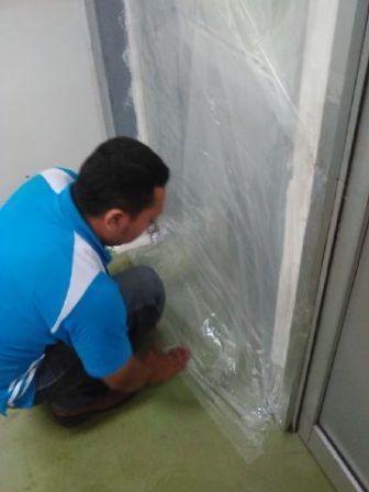 Sealing pada beberapa tempat